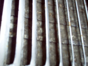 mold growth on air vent after just 3 months