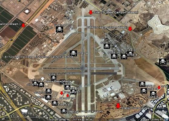 El Toro Marine Base >> El Toro Marine Corps Air Station El Toro Ca Civilian Exposure