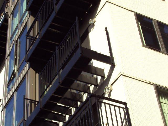 belltown moda apartments has its balconies repossessed. Black Bedroom Furniture Sets. Home Design Ideas